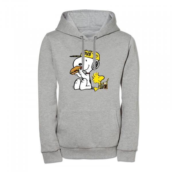 "BVB hooded sweatshirt ""Snoopy"" for women (grey)"