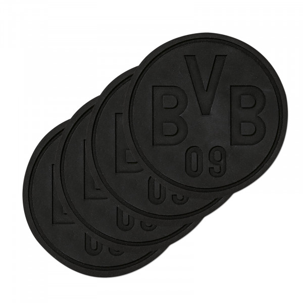 BVB silicone coaster (set of 4)