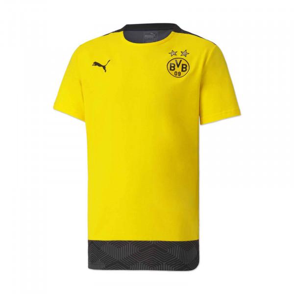 T-shirt BVB 20/21 loisir pour enfant (jaune)