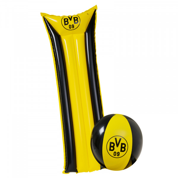 BVB Lilo + Beach Ball Set
