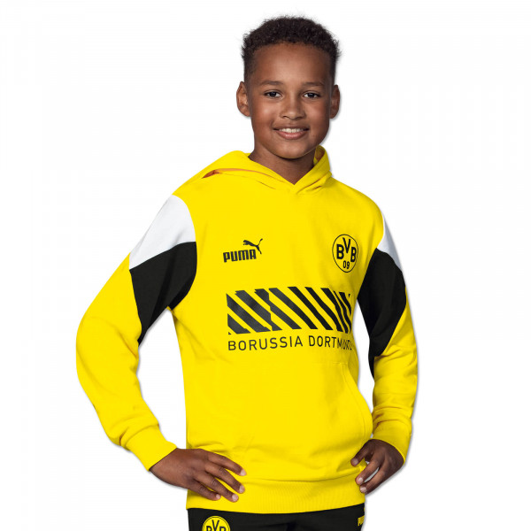 BVB Hoodie Ftbl Culture (Yellow) for Kids