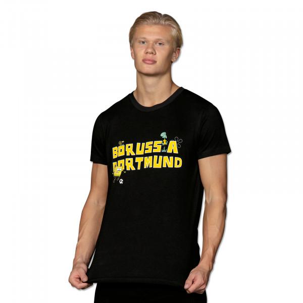 T-Shirt BVB Bob l'Éponge, noir