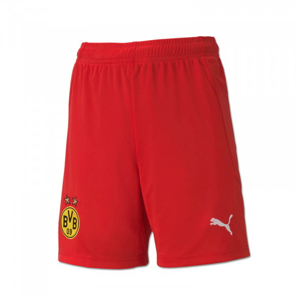 BVB Goalkeeper Shorts 20/21 for Kids (red)