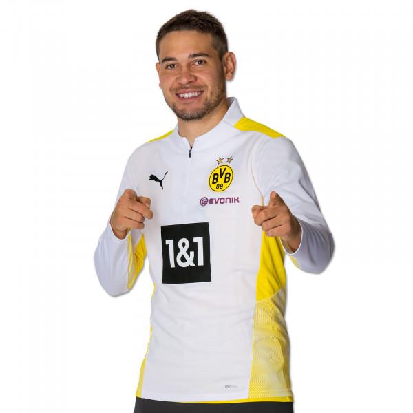 BVB Training Zip Shirt 21/22 (white)
