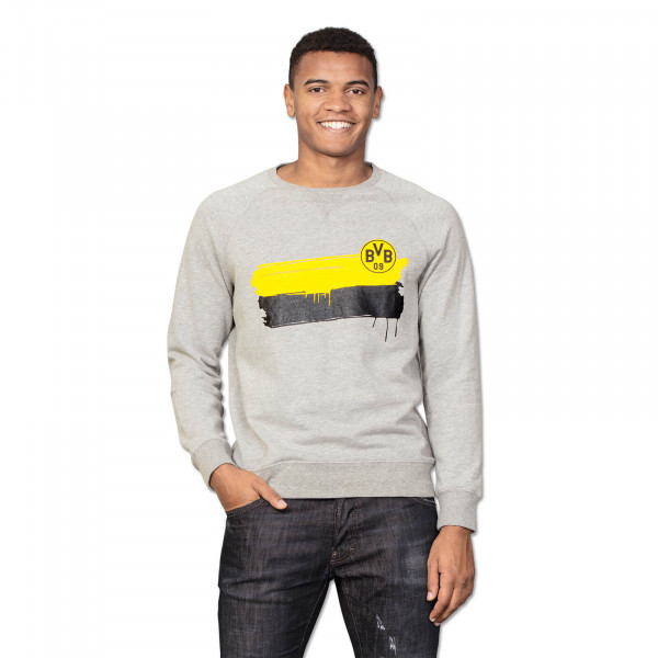 BVB Sweatshirt with Colour Strips