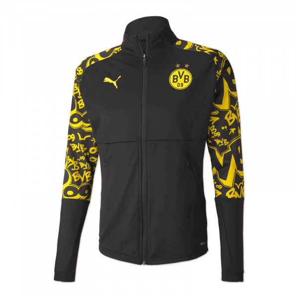 BVB Warm Up Jacket 20/21 for Kids (Away)