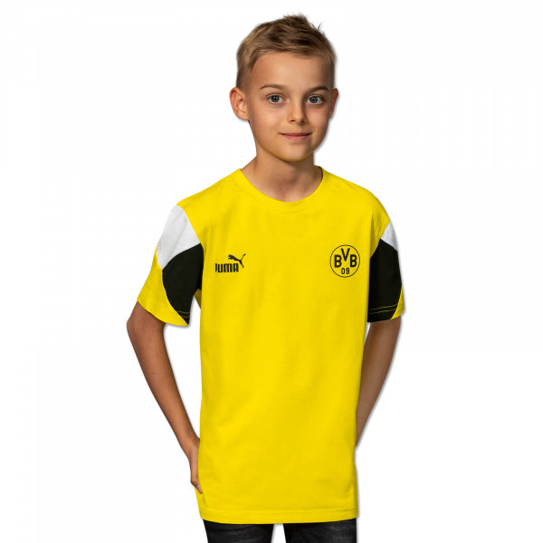 BVB T-Shirt Ftbl Culture (Yellow) for Kids