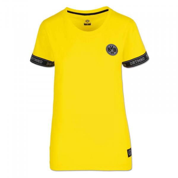 BVB T-Shirt DRTMND for Women, Yellow