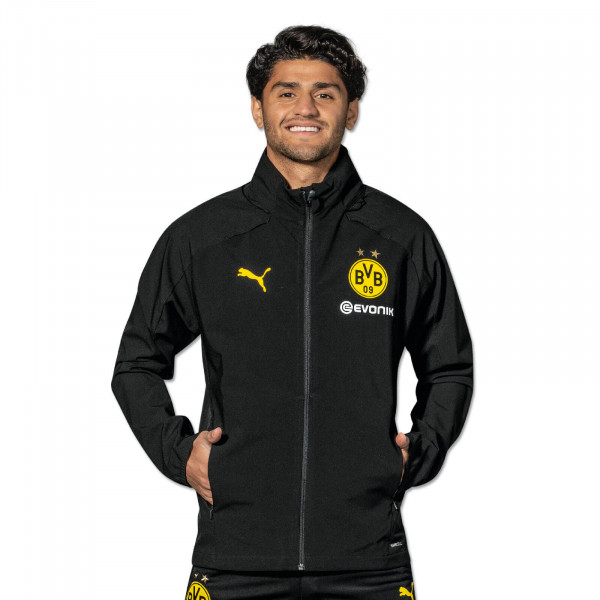 BVB Training Rain Jacket 19/20 (black)