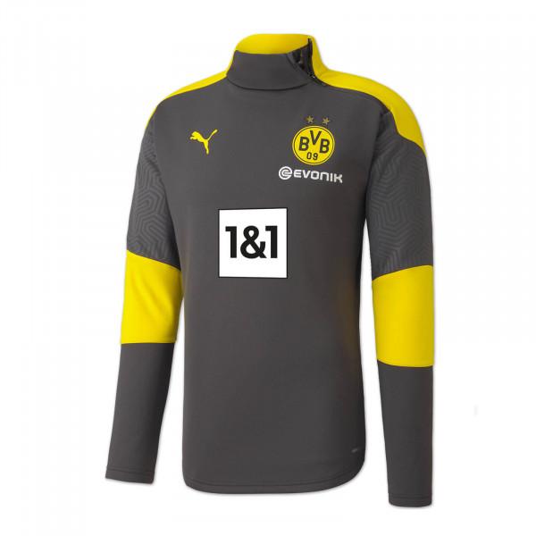 BVB Training Fleece Jacket 20/21 for Children (Grey)