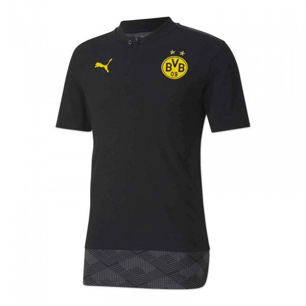 BVB leisure polo 20/21 (black)