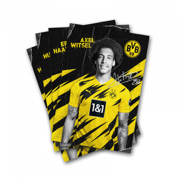 BVB Autograph Card Set with Printed Signature 2020/21