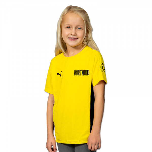 BVB T-shirt Evostripe (Yellow) for Kids