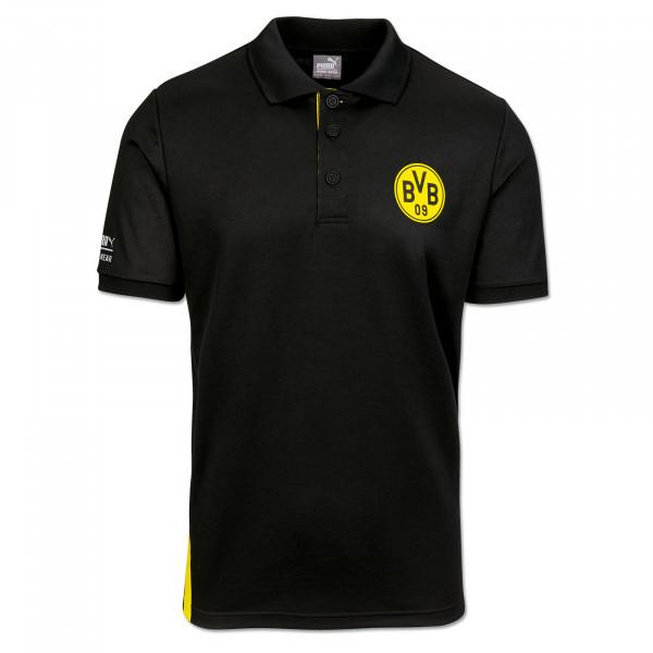 BVB Polo Work Shirt Anthracite