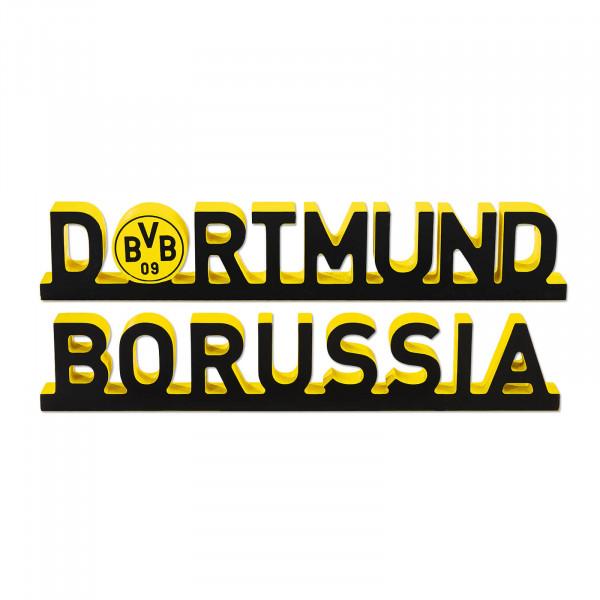 BVB decorative lettering Borussia Dortmund