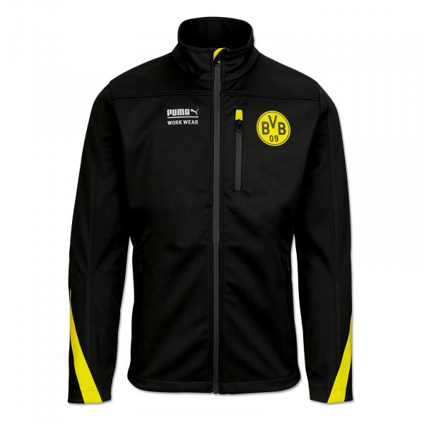 BVB Softshell Work Jacket Anthracite