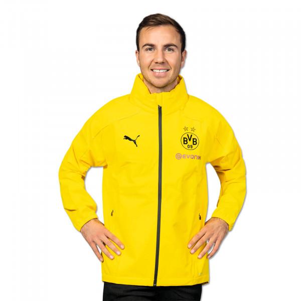 BVB Training Rain Jacket 19/20 (Yellow)