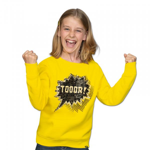 BVB Sweatshirt with Flip Sequins