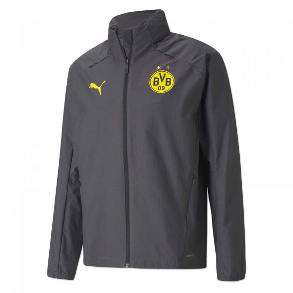 BVB training rain jacket 20/21 (grey)