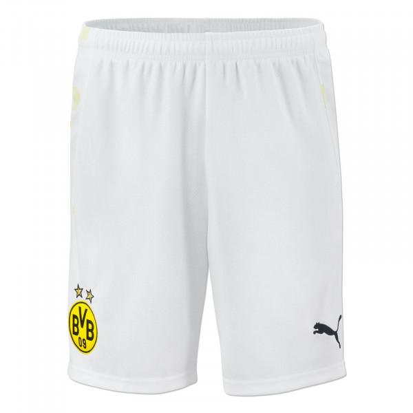 Short de football du BVB 20/21 (blanc)