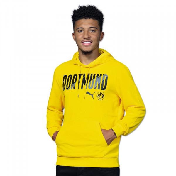 BVB Hoodie Dortmund 20/21 (Yellow)