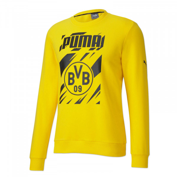 BVB Sweatshirt Ftbl Core 20/21 (Yellow)