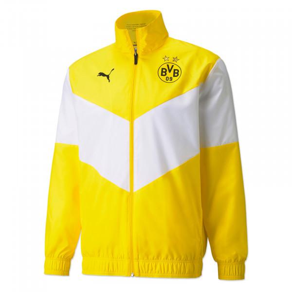 BVB Pre-Match Jacket (Yellow)