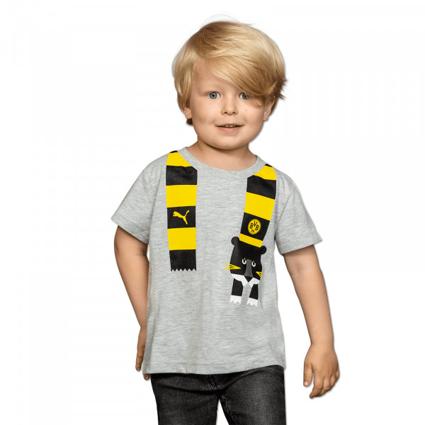 BVB T-Shirt with Puma Scarf for Toddlers