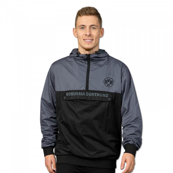 Windbreaker men black