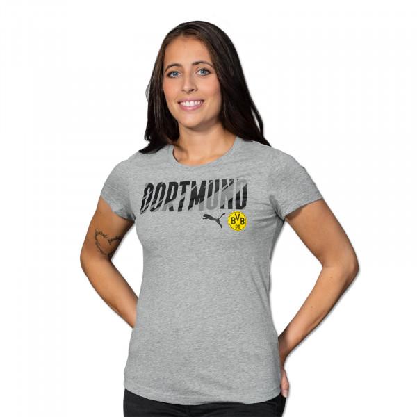 BVB T-Shirt Dortmund 20/21 for Women (Grey)