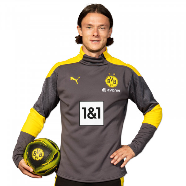 BVB Training Fleece Jacket 20/21 (Grey)