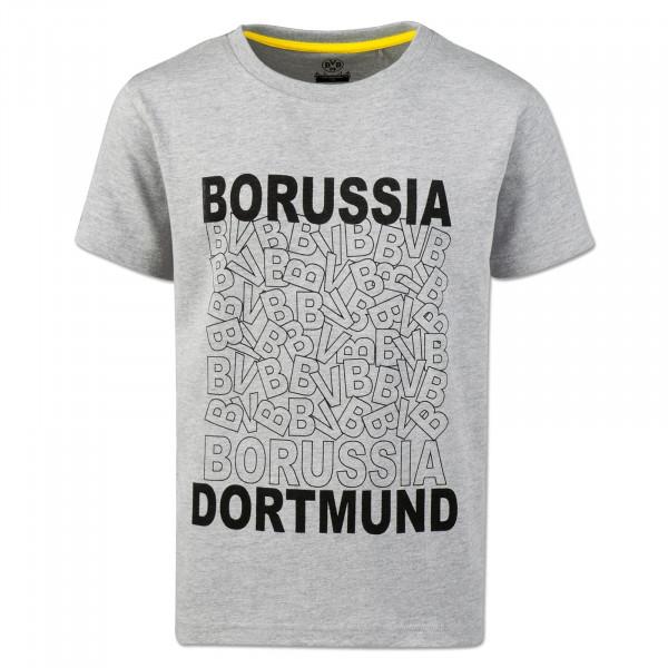 BVB Kids T-Shirt Grey Melange