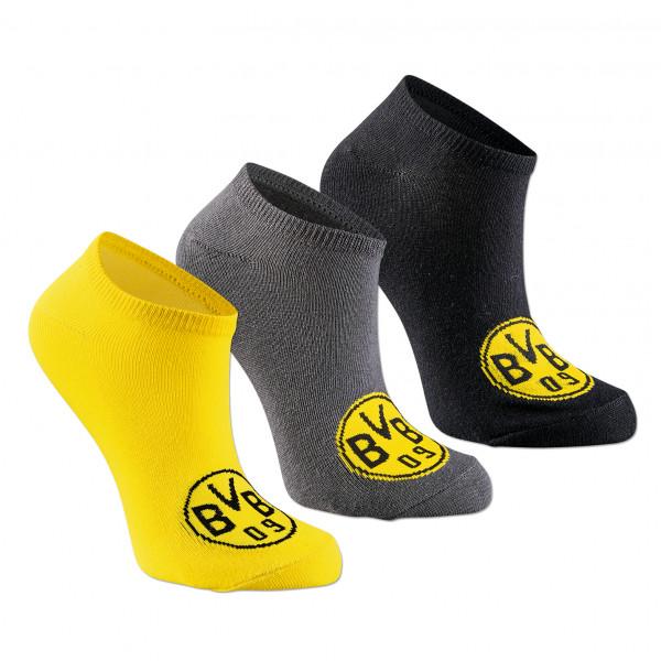 Calcetines de zapatillas BVB (juego de 3)