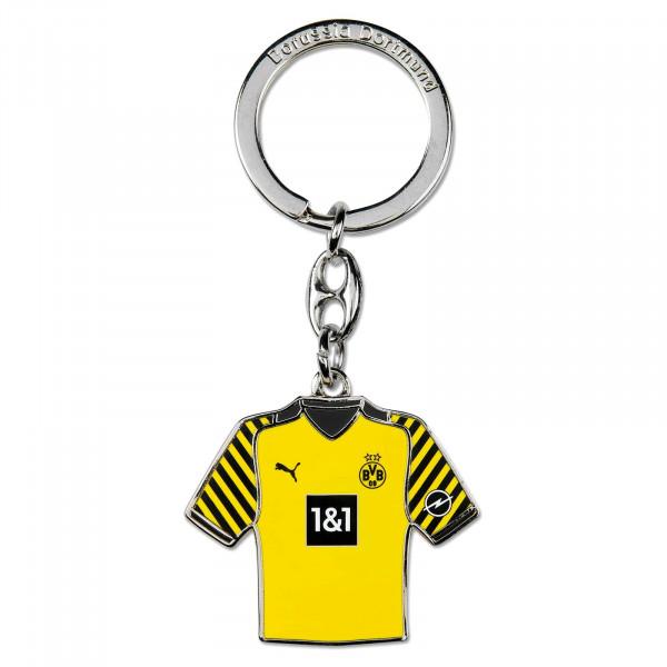 BVB key ring in jersey shape 21/22