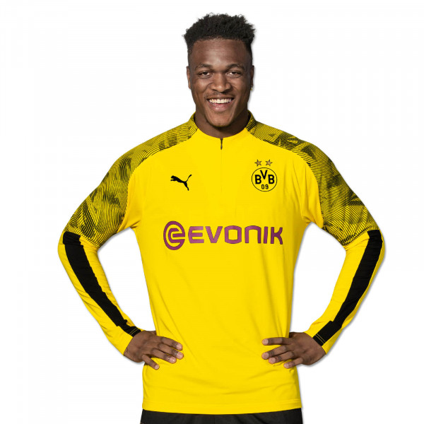 BVB Zip training-shirt 19/20 (yellow)