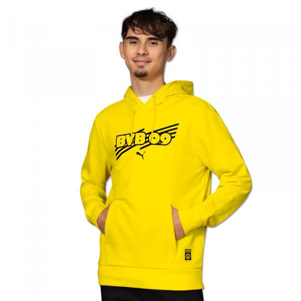 BVB Hoodie Ftbl Core (Yellow)