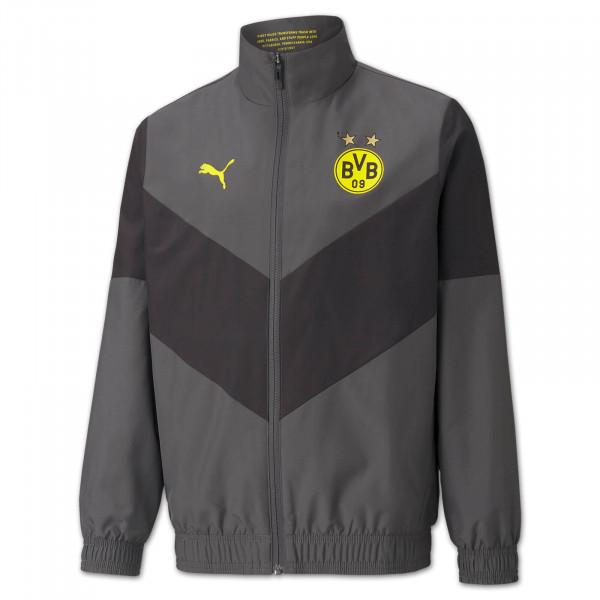 BVB Pre-Match Jacket (Asphalt) Kids