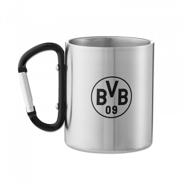 BVB Stainless Steel Cup with Carabiner Handle
