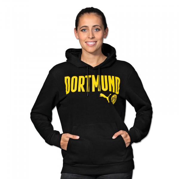 BVB Hoodie Dortmund 20/21 for Women (Black)