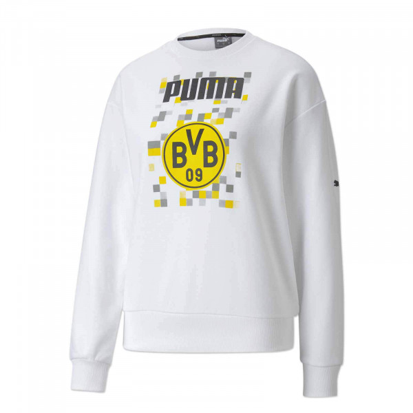 BVB sweatshirt Ftbl Core f. ladies 20/21 (white)