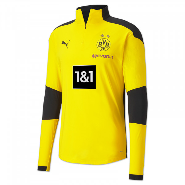 BVB training zip shirt 20/21 (yellow)