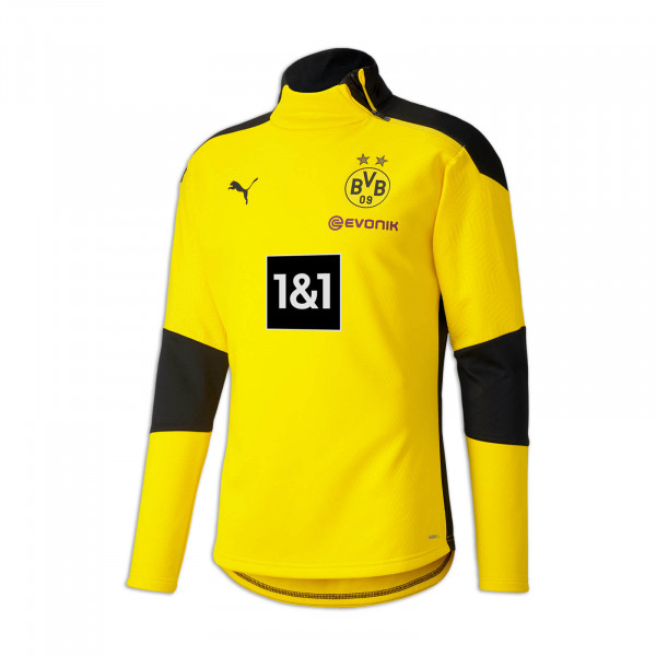 BVB Training Fleece Jacket 20/21 for Kids (Yellow)