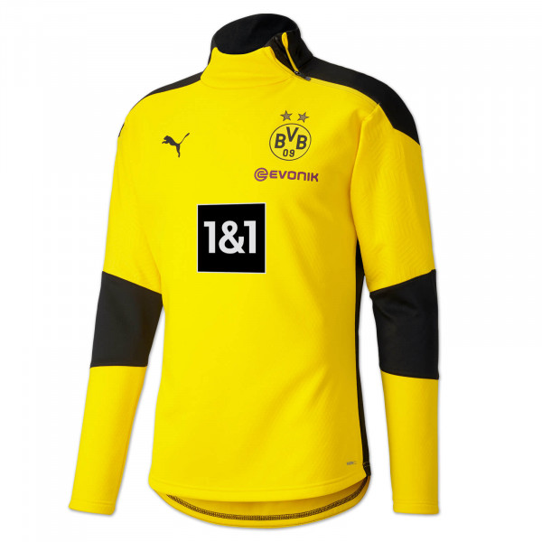 BVB Training Fleece Jacket 20/21 (Yellow)