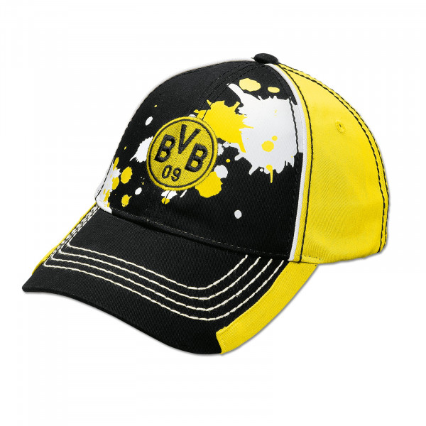 BVB Cap with Paint Splash for Kids