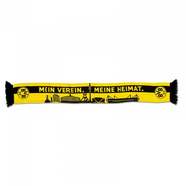 """BVB scarf """"Skyline"""""""