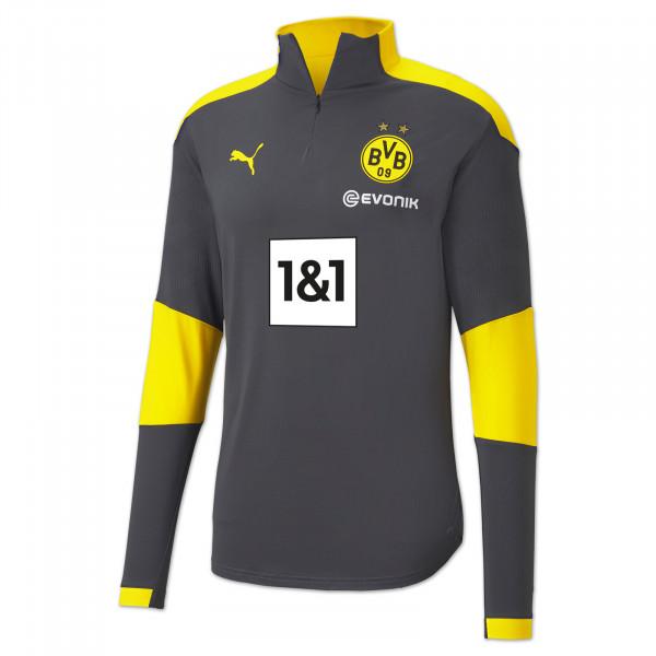 BVB training zip shirt 20/21 (grey)