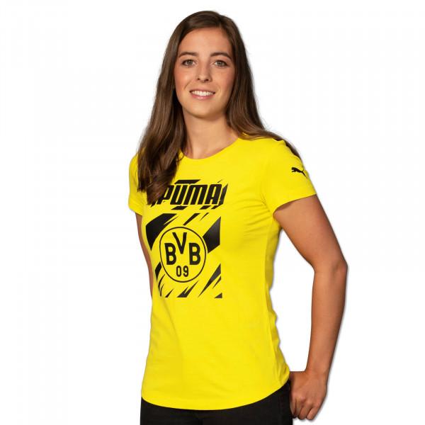 BVB T-Shirt Ftbl Core for Women 20/21 (Yellow)
