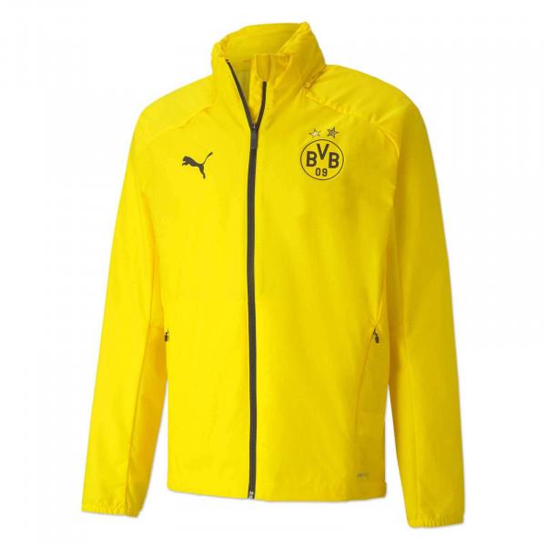 BVB Training Rain Jacket 20/21 (Yellow)