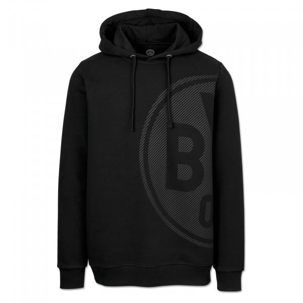 BVB Men's Hoodie, Basic+, black