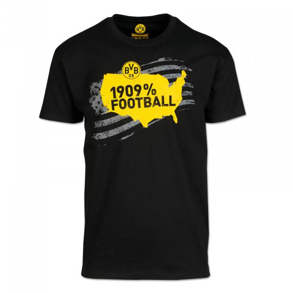 BVB T-Shirt USA Black